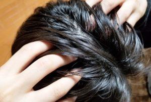 かゆい頭皮