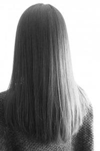 さらさらのヘアスタイル